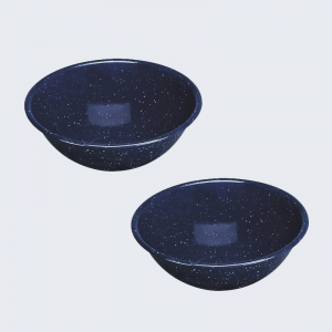 Set 2 Bowls enlozados Rustik