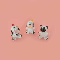 Set miniaturas 3 perritos