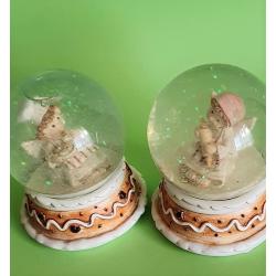 Dos Angeles cocineros en burbuja